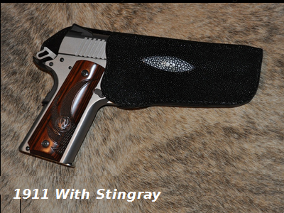 1911 With Stingray Holster