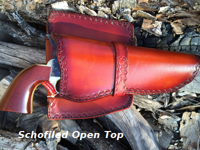 Schofiled Open Top Gun Holster