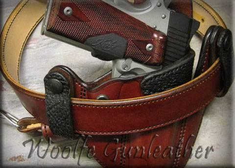 Woolfe Gun Leather | Custom Leather Holsters | Custom