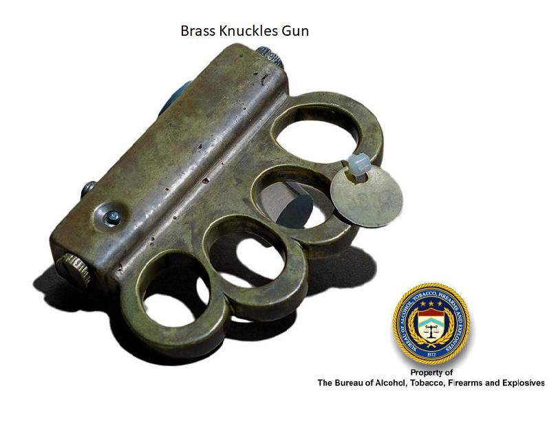 Brass Knuckles Gun