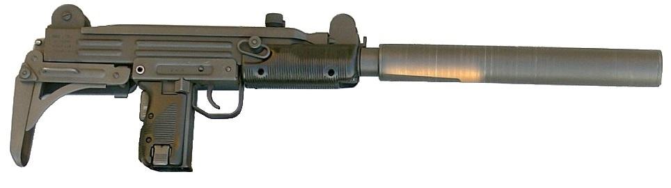 Uzi with silencer